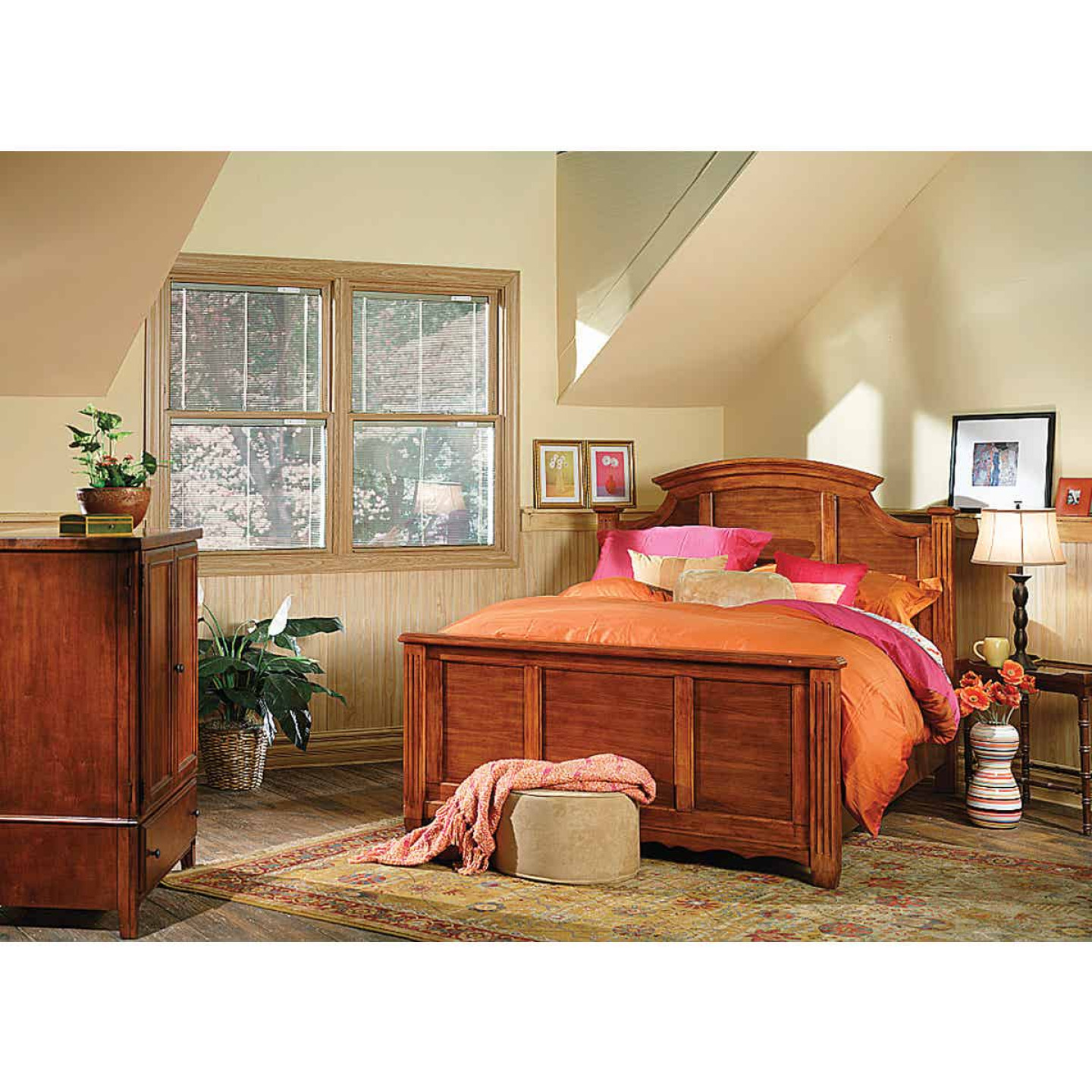 DPI 4 Ft. x 8 Ft. x 1/8 In. Frosted Maple Woodgrain Wall Paneling Image 2