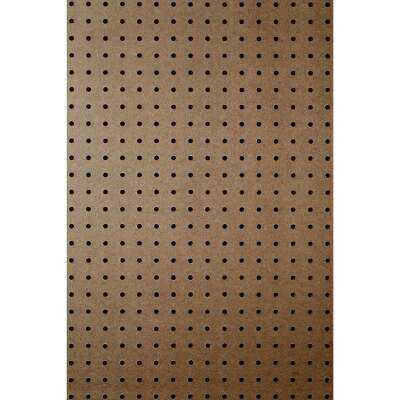 DPI 4 Ft. x 8 Ft. x 1/4 In. Brown Green Core Hardboard Pegboard