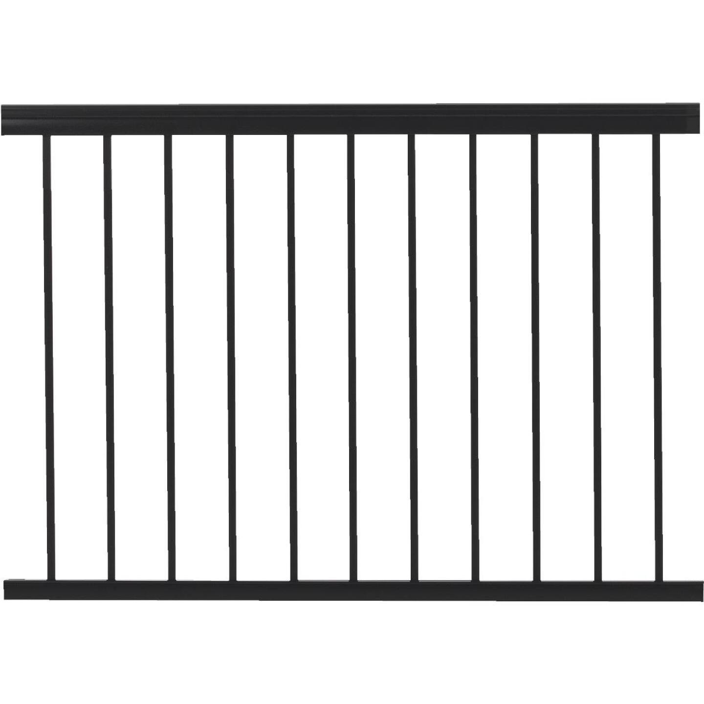 Gilpin Summit 36 In. H. x 4 Ft. L. Black Aluminum Railing Image 1