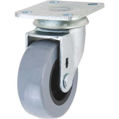 Shepherd 2 In. Thermoplastic Swivel Plate Caster
