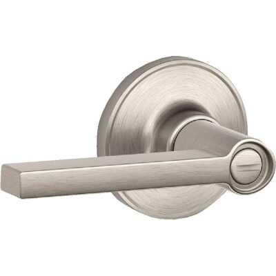 Dexter Solstice Satin Nickel Privacy Door Lever Lockset