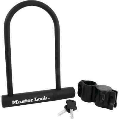 Master Lock 4 In. x 8 In. U-Bar Bicycle Lock
