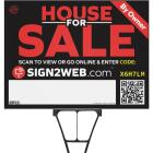 Sign2Web 18 In. x 24 In. Double-Sided House For Sale By Owner Sign Image 1