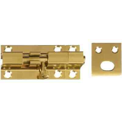 National V1925 Solid Brass Door Barrel Bolt (1 Count)