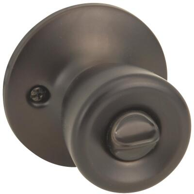 Steel Pro Oil Rubbed Bronze Bed & Bath Door Knob