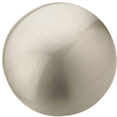 Amerock Allison Satin Nickel 1-1/4 In. Cabinet Knob