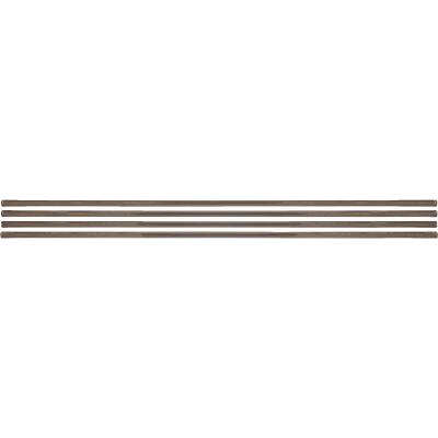 Smart Edge 0.27 In. x 18 In. Peel & Stick Edge Backsplash Trim, Ambra (Bronze Metallic) (4-Pack)