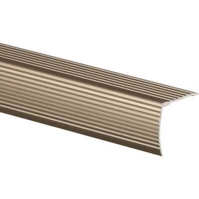 Frost King Satin Nickel 1-1/8 In. W x 36 In. L Aluminum Stairnose
