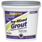 Custom Building Products Simplegrout Quart Linen Pre-Mixed Tile Grout Image 1