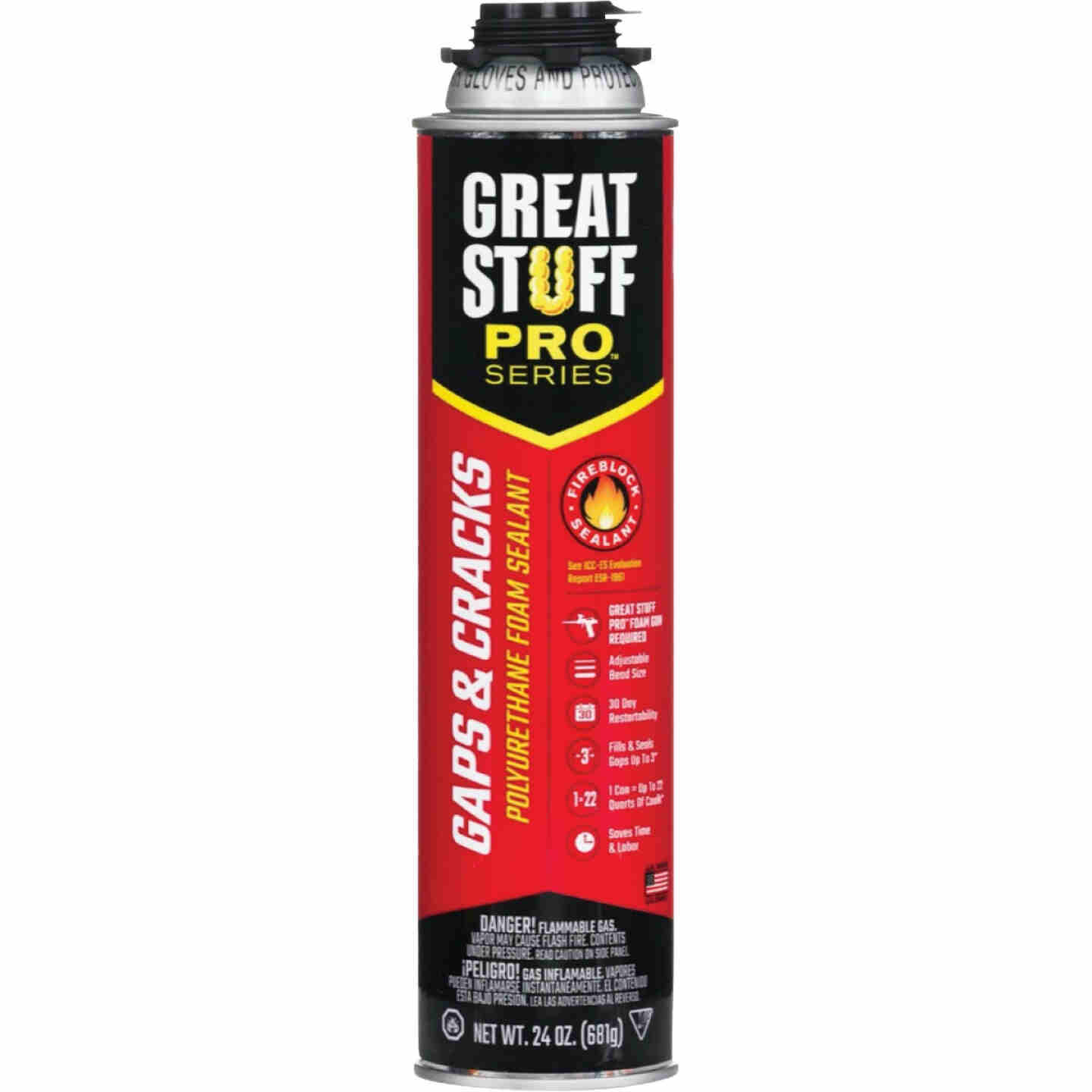Great Stuff Pro Gaps & Cracks 24 Oz. Gun Foam Image 1