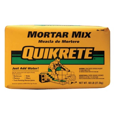 Quikrete 60 Lb. Natural Type N Mortar Mix