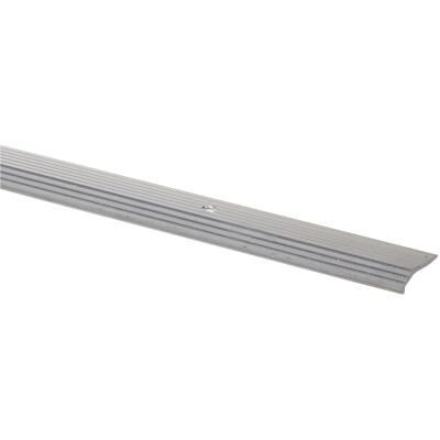 M D Building Products 3/4 In. x 6 Ft. Satin Silver Aluminum Fluted Tile Edging