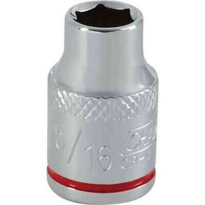 Channellock 3/8 In. Drive 5/16 In. 6-Point Shallow Standard Socket