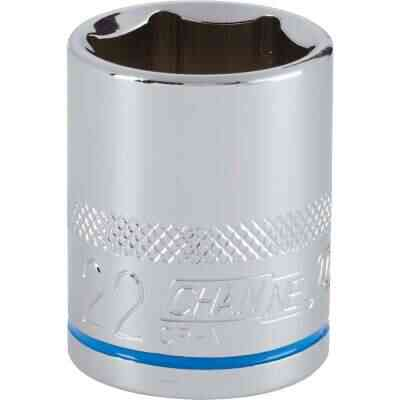 Channellock 1/2 In. Drive 22 mm 6-Point Shallow Metric Socket