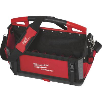Milwaukee PACKOUT 32-Pocket 20 In. Tool Tote