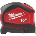 Milwaukee 16 Ft. Compact Auto Lock Tape Measure Image 1