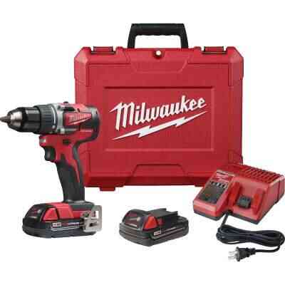 Milwaukee M18 Compact Brushless 1/2 In. Drill Driver Kit