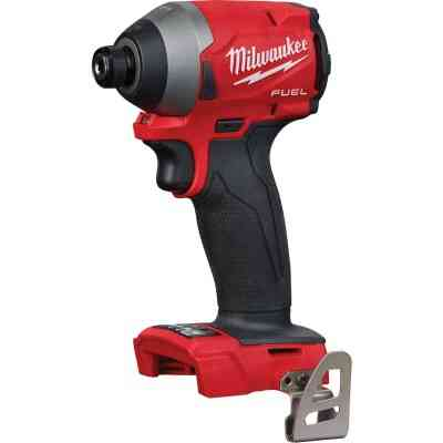 Milwaukee M18 FUEL 18 Volt Lithium-Ion Brushless 1/4 In. Hex Impact Driver (Bare Tool)