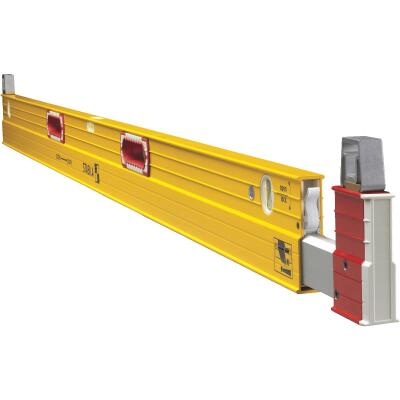 Stabila 6 Ft. to 10 Ft. Aluminum Extendable Plate to Plate Box Level