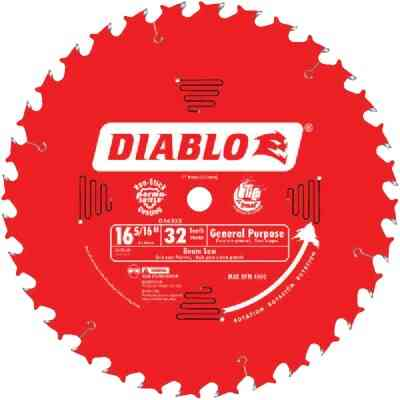 Diablo 16-5/16 In. 32-Tooth General Purpose Beam Cutting Circular Saw Blade