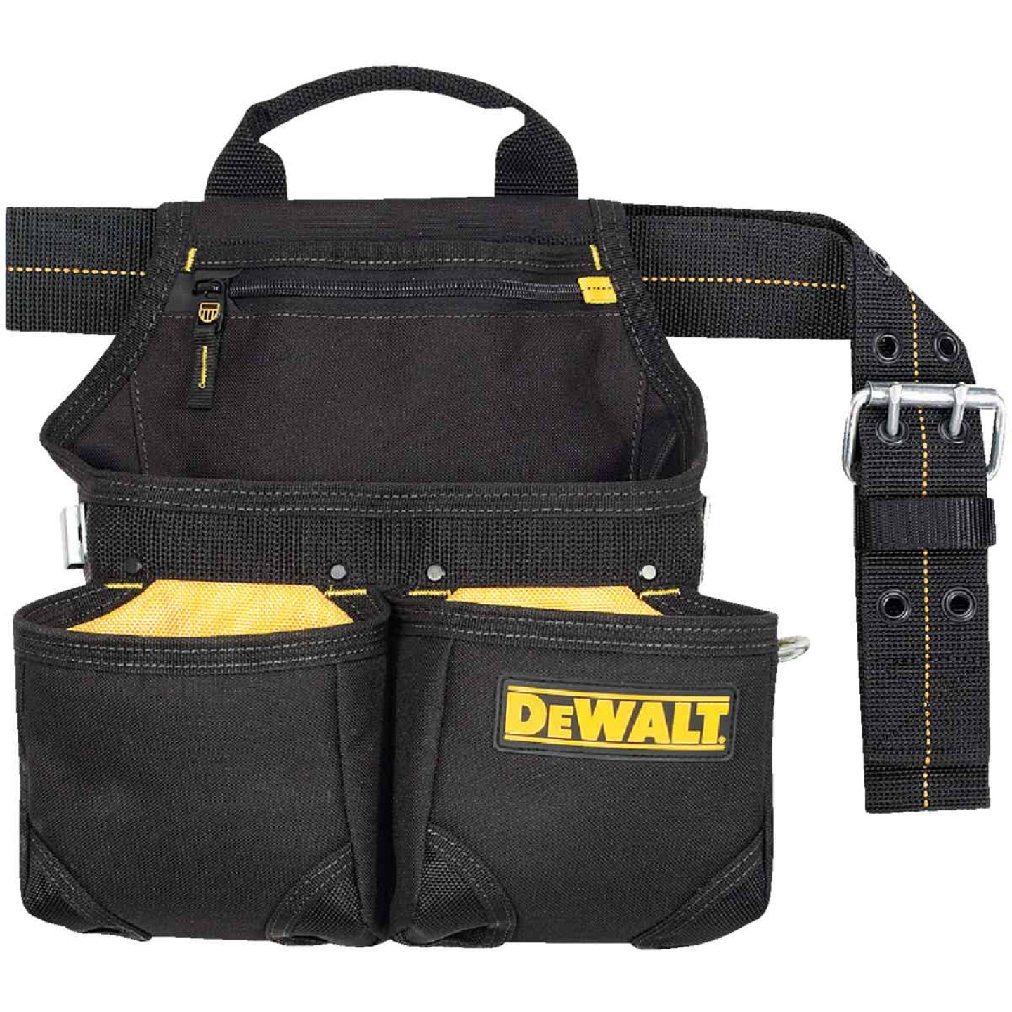 DeWalt 6-Pocket Nylon Framer's Nail & Tool Bag with Belt Image 2
