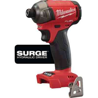 Milwaukee M18 FUEL SURGE 18 Volt Lithium-Ion Brushless 1/4 in. Hex Hydraulic Cordless Impact Driver (Bare Tool)