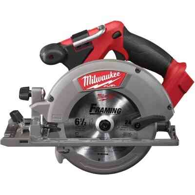 Milwaukee M18 FUEL 18 Volt Lithium-Ion Brushless 6-1/2 In. Cordless Circular Saw (Bare Tool)