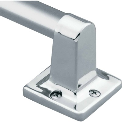 Moen Home Care 9 In. x 7/8 In. Exposed Screw Grab Bar, Chrome