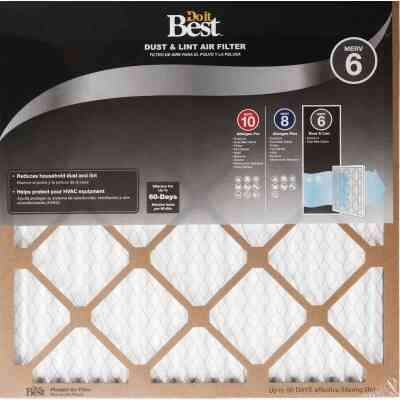 Do it Best 14 In. x 30 In. x 1 In. Dust & Lint MERV 6 Furnace Filter