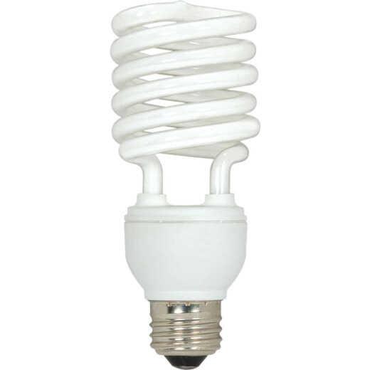 Satco 100W Equivalent Warm White Medium Base T2 Spiral CFL Light Bulb (3-Pack)