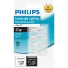 Philips 11W Clear Wedge T5 Incandescent Special Purpose Light Bulb (4-Pack) Image 2