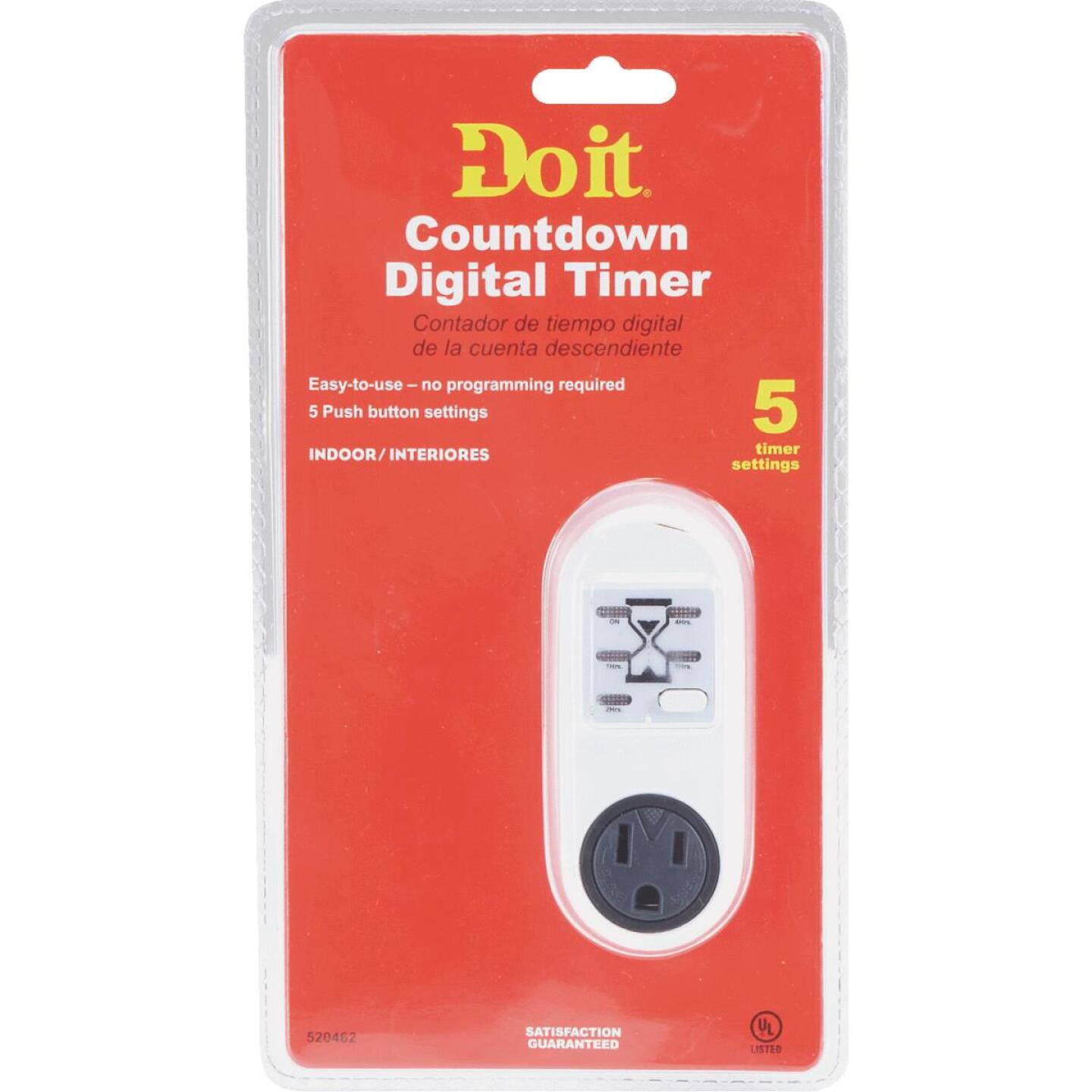 Do it 125V Countdown Digital Timer Image 2