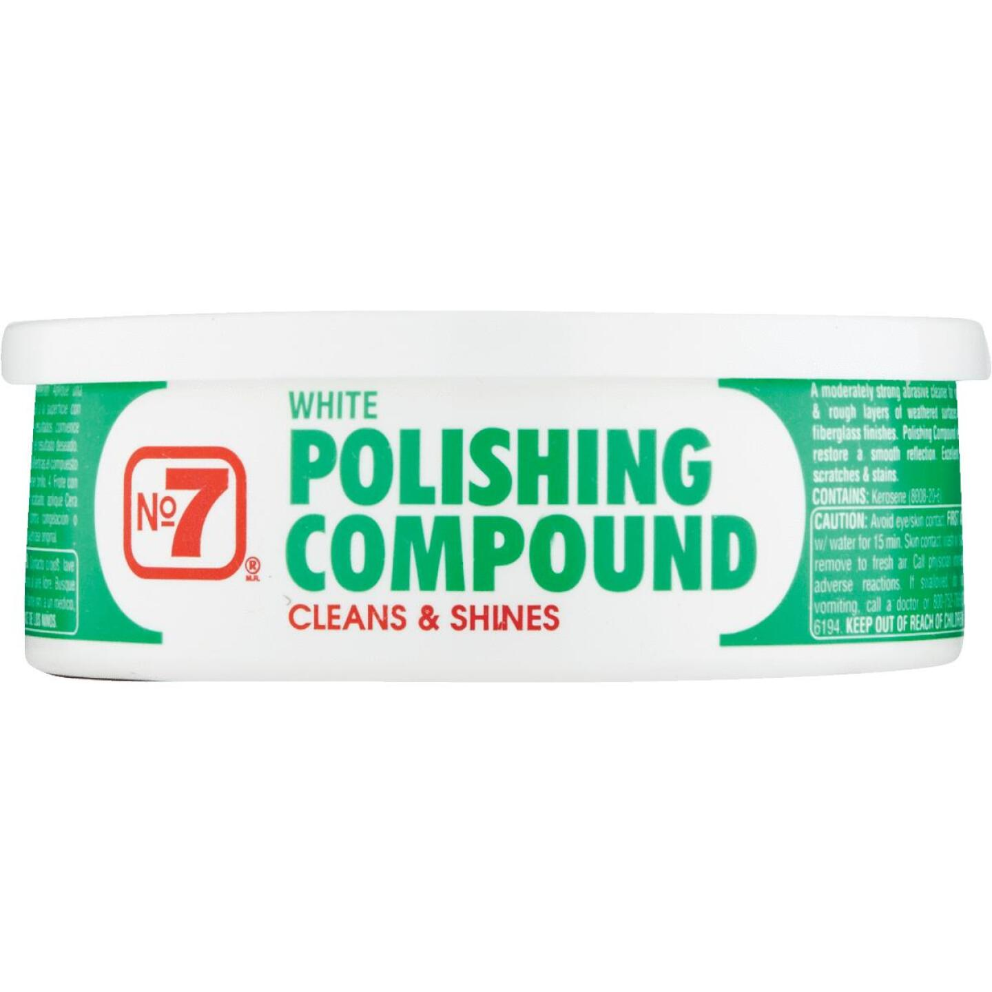 NO. 7,  10 oz Paste White Polishing Compound Image 2