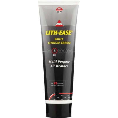 AGS Lith-Ease 8 Oz. Tube White Lithium Grease