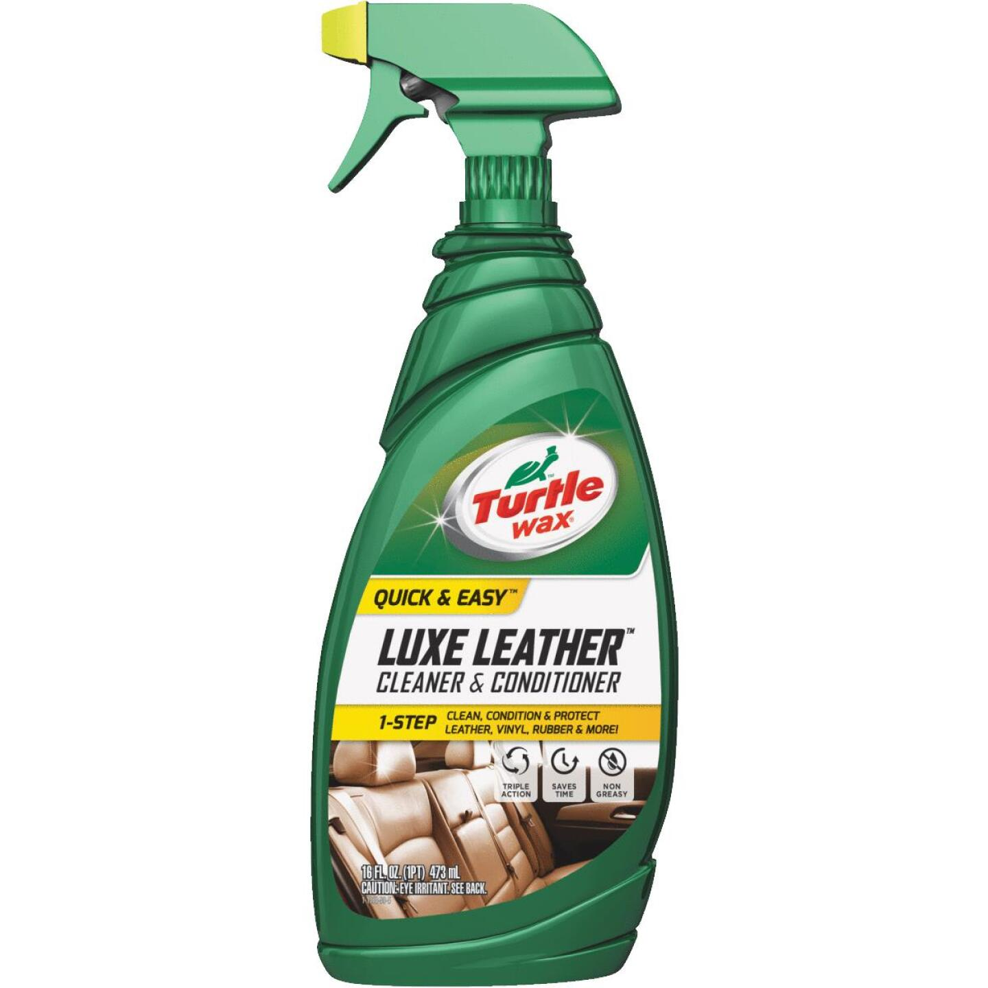 Turtle Wax Luxe Leather 16 oz Trigger Spray Leather Cleaner Image 1