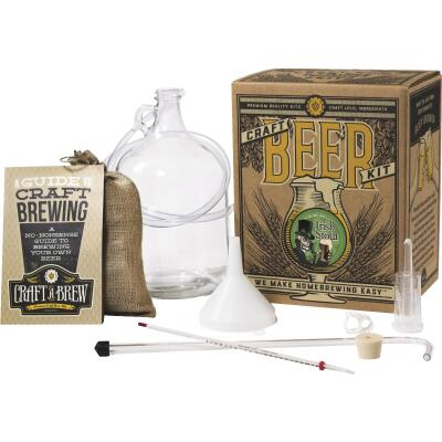 Craft A Brew Bone Dry Irish Stout Beer Brewing Kit (11-Piece)