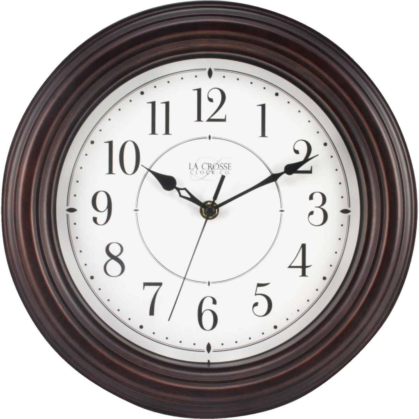 La Crosse Clock Silent Sweep Wall Clock Image 1