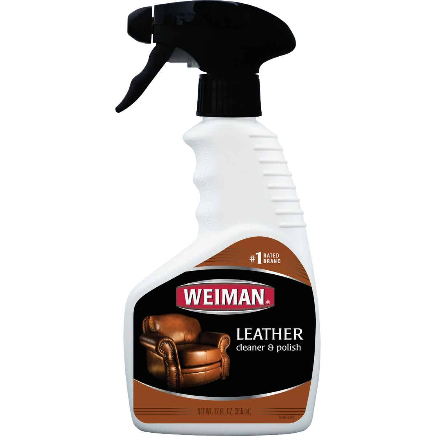 Weiman 12 Oz. Trigger Spray Leather Care Cleaner & Polish Image 1