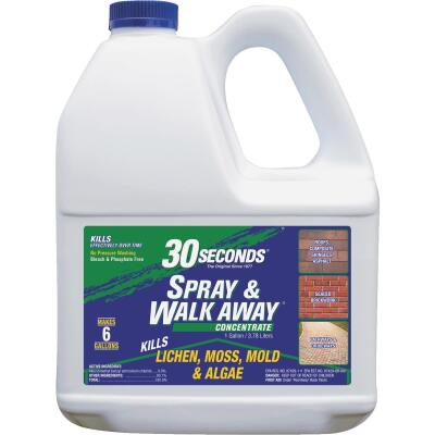 30 seconds Spray & Walk Away 1 Gal. Concentrate Moss & Algae Killer
