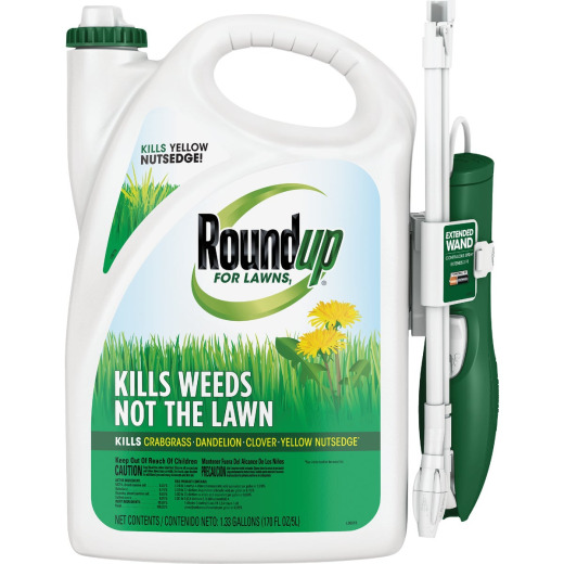 Roundup For Lawns 1.33 Gal. Ready To Use Wand Sprayer Northern Formula Weed Killer