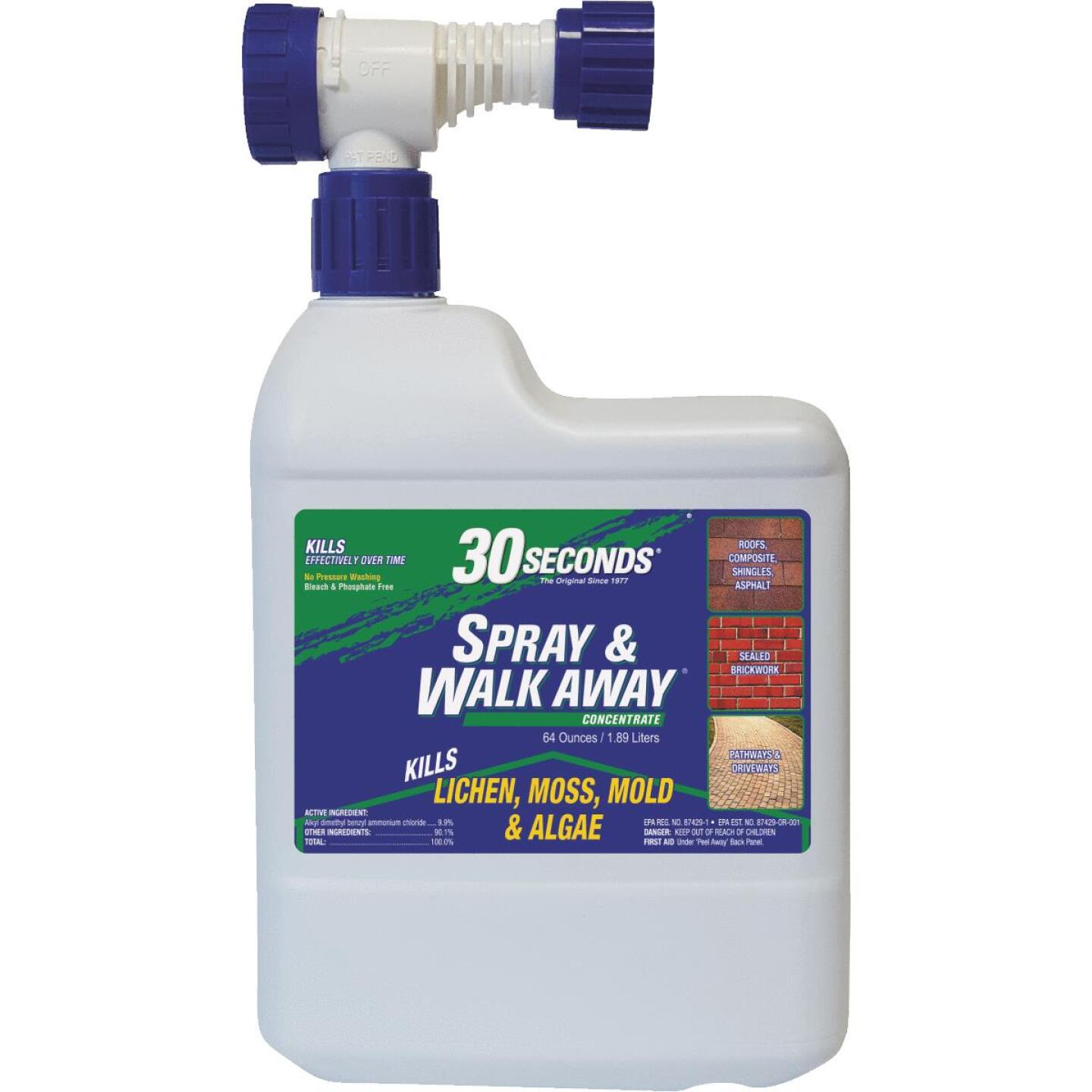 30 seconds Spray & Walk Away 64 Oz. Ready To Spray Moss & Algae Killer Image 1