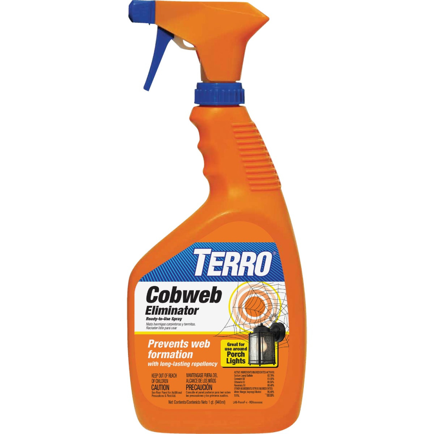 Terro 32 Oz. Trigger Spray Cobweb Eliminator Image 1