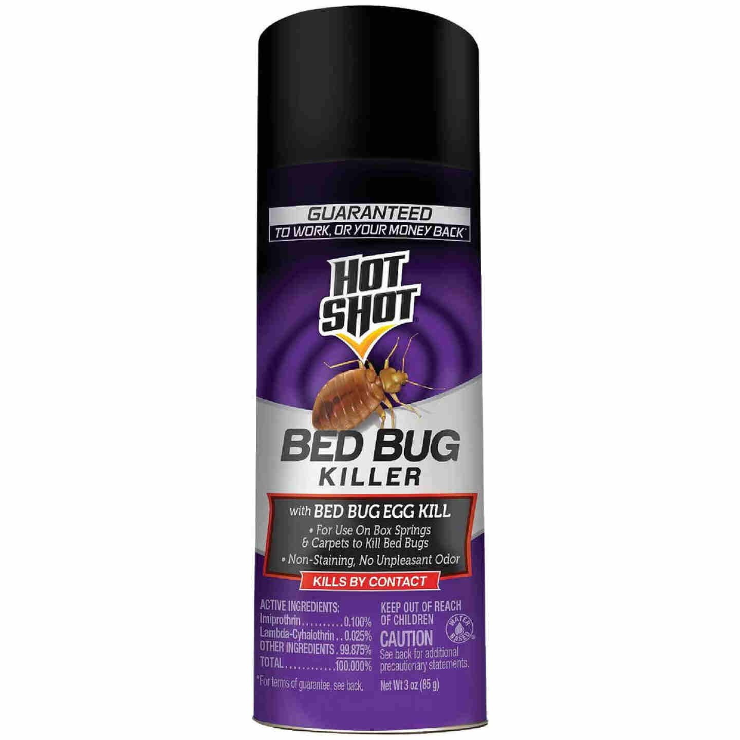 Hot Shot 3 Oz. Aerosol Spray Bedbug Killer Image 1