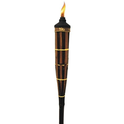 Tiki Royal Polynesian 5 Ft. Brown Bamboo Patio Torch