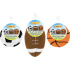 Westminster Pet Ruffin' it Assorted Plush Sports Ball Dog Toys Image 1