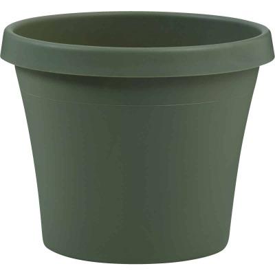 Bloem Terra Living Green 7.25 In. H. x 8 In. Dia. Polypropylene Planter