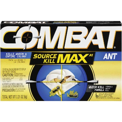 Combat Source Kill Max 0.21 Oz. Solid Ant Bait Station (6-Pack)