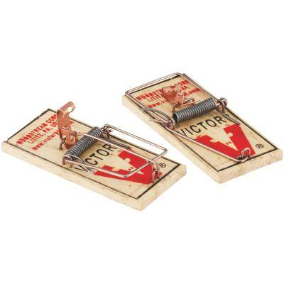 Victor Mechanical Metal Pedal Mouse Trap (2-Pack)