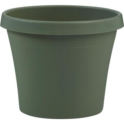 Bloem Terra Living Green 12.75 In. H. x 14 In. Dia. Polypropylene Planter