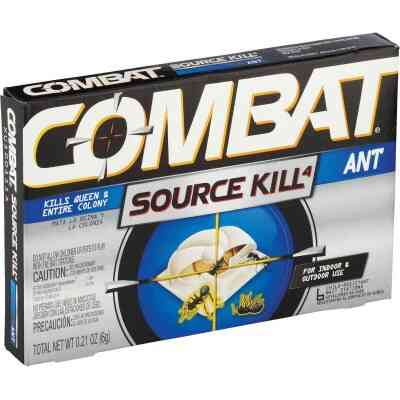 Combat Source Kill 0.21 Oz. Solid Ant Bait Station (6-Pack)